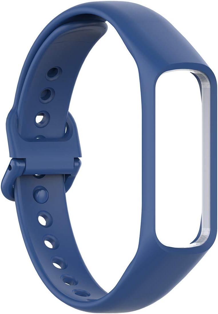 Malla para reloj Samsung Galaxy Fit 2 (silicona, azul)