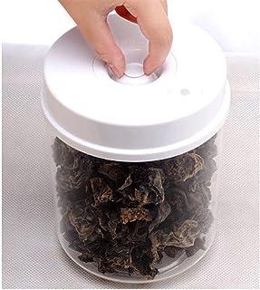 FEGSX Scellant sous vide Récipient pour aliments sous vide en plastique pour boîte de rangement Organisateur de réfrigérat...