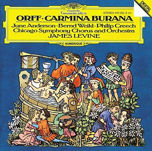 June Anderson, Philip Creech, Bernd Weikl, Chicago Symphony Chorus, Chicago Symphony Orchestra, James Levine & Carl Orff