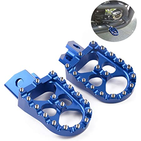 Yamaha YZ450FX 2016 2017 2018 Wide Red Foot Pegs