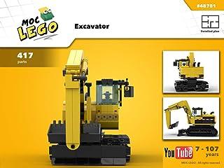 Excavator (Instruction Only): MOC LEGO (English Edition)