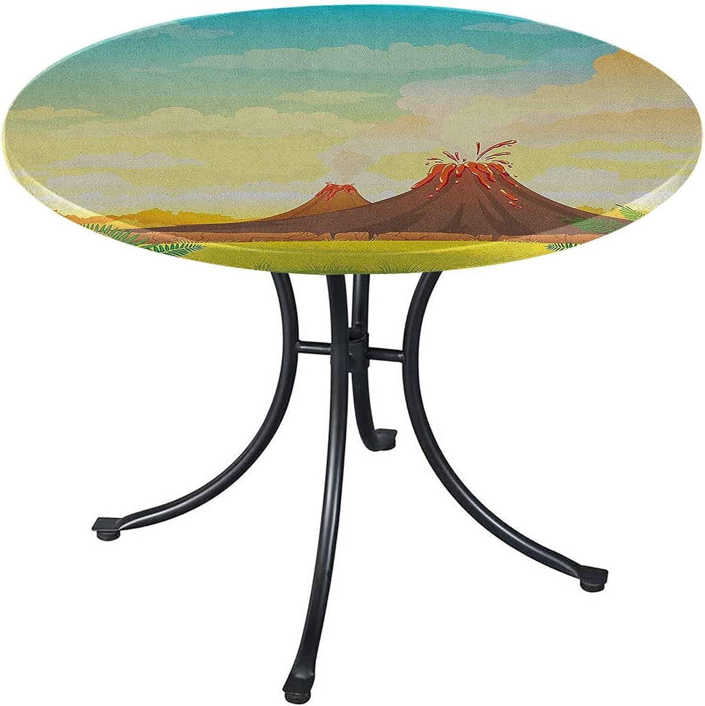 Volcano Spring Tablecloth 54