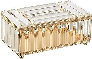 Uchwyt na skrzynkę do tkanki szklane kryształowe pudełko do przechowywania wnętrz, europejski kryształowy skrzynkowy uchwy...