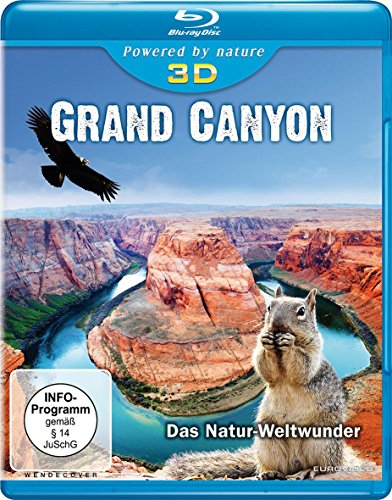 Grand Canyon - Das Natur-Weltwunder (inkl. 2D-Version) [3D Blu-ray]