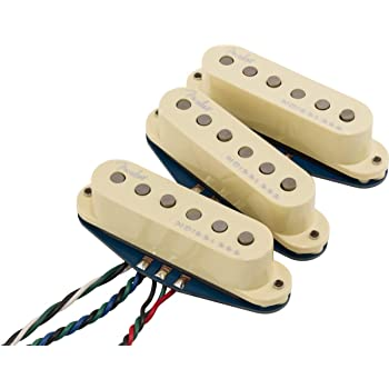 Fender Musical Instruments Corp. Fender Ultra Noiseless Vintage Stratocaster Pickups Electric Guitar Electronics (992290000)