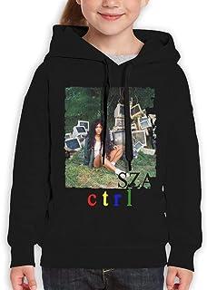 AlbertV SZA Ctrl Teenager Hoodies Hoodie for Boys and Girls Black