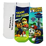 Nickelodeon - Calcetines cortos - para niño Multicolor Paw Patrol (Pack 2) 23/26(EU) 6/9(UK)