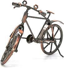 Escultura de metal retro Classic mano Hierro Bicicleta único metal Art Decoración Adornos para la oficina en casa