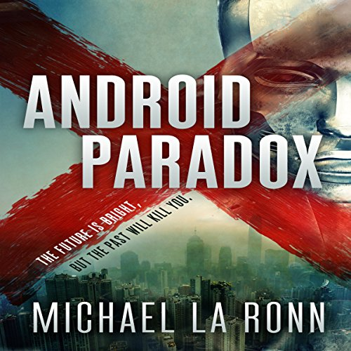 Android Paradox audiobook cover art