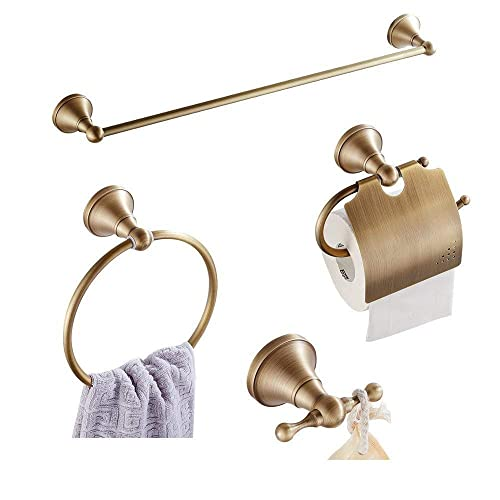 Antique Brass Bathroom Accessories Amazoncom