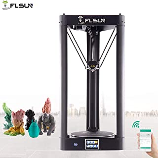 FLSUN QQ-S 90%Pre-assembled Delta 3d Printer Printing Size