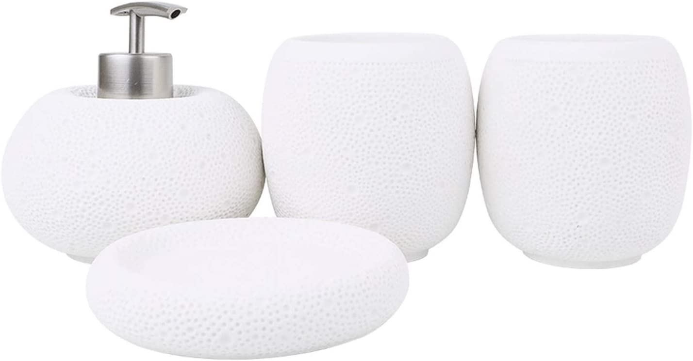 Dish Max 83% OFF and Hand Soap Dispenser Easy-to-use Resin Accessorie Sandstone Bathroom