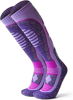 Athlete High Performance Unisex Knee Length Ski Socks For Men and Women, Winter Performance Socks,Snowboard socks