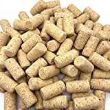PheiLa 100 Pack #9 Blank Wine Corks 15/16' x 1 3/4' Natural Straight Corks Wine Stoppers DIY Craft Winecork for Corking...