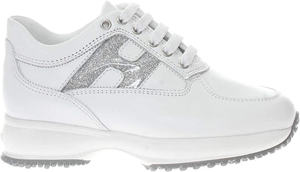 Hogan interactive sneakers casual da bambina/ragazza in pelle P20..HXC00N0O241FH5