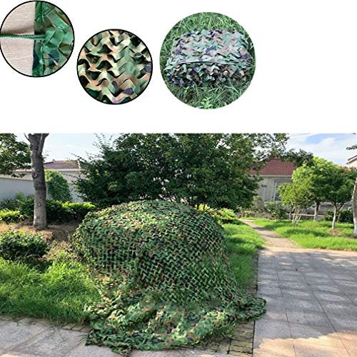 Camouflage Net,Sun Shade Netting Oxford,Sunscreen Fabric,for Garden Pergola Camping Hunting Hide Sunscreen Awnings Event Shelters Gazebos 2m 3m 5m 10m(6x10m(20x33ft))
