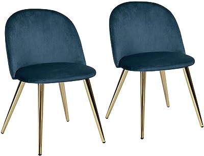 MEUBLE COSY Lot de 2 Chaise de Salle à Manger Moderne Chaise