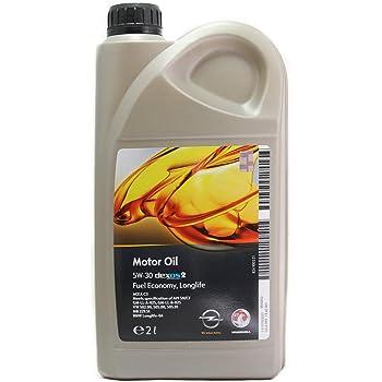 Opel GM 5W-30 Dexos2 Aceite para Motor: Amazon.es: Coche y moto