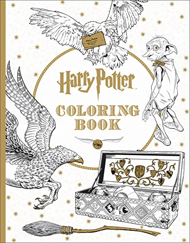 Harry Potter Coloring Book 1 For The Love Of Harry