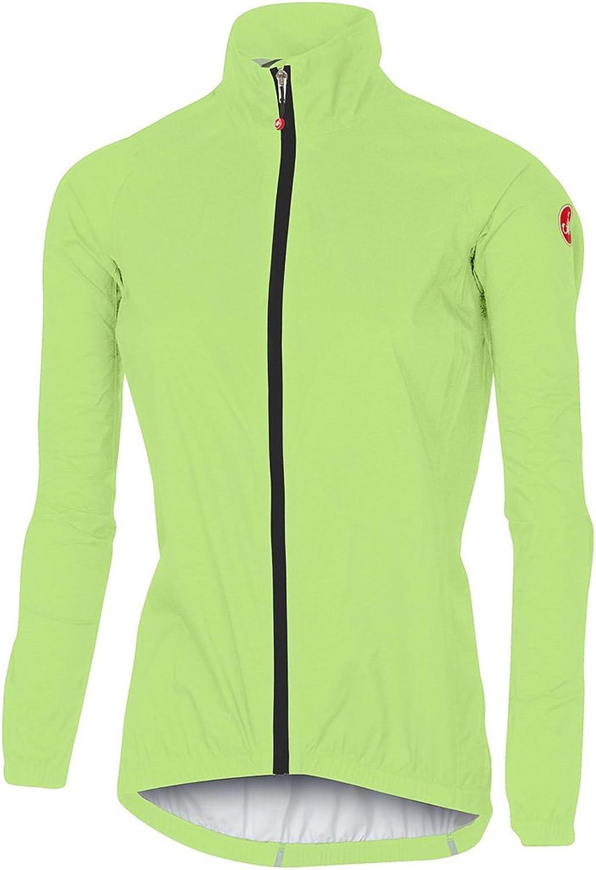 Castelli Women's W Emergency Jacket  Yellow Fluo