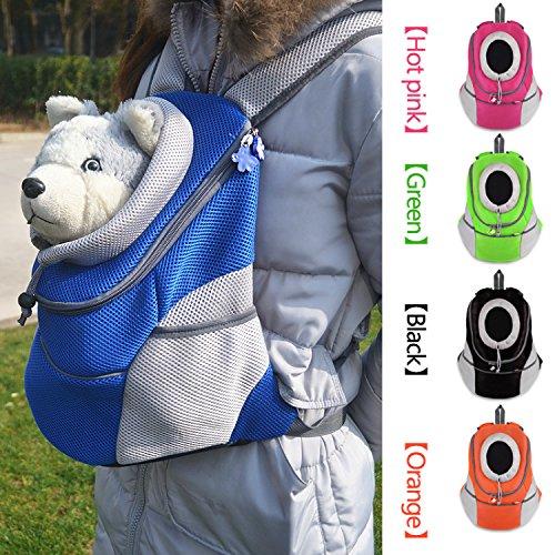 Chien Animal portable pratique Léger Extérieur Voyage Pet transporteur sans vos mains sûre à Transporter votre animal