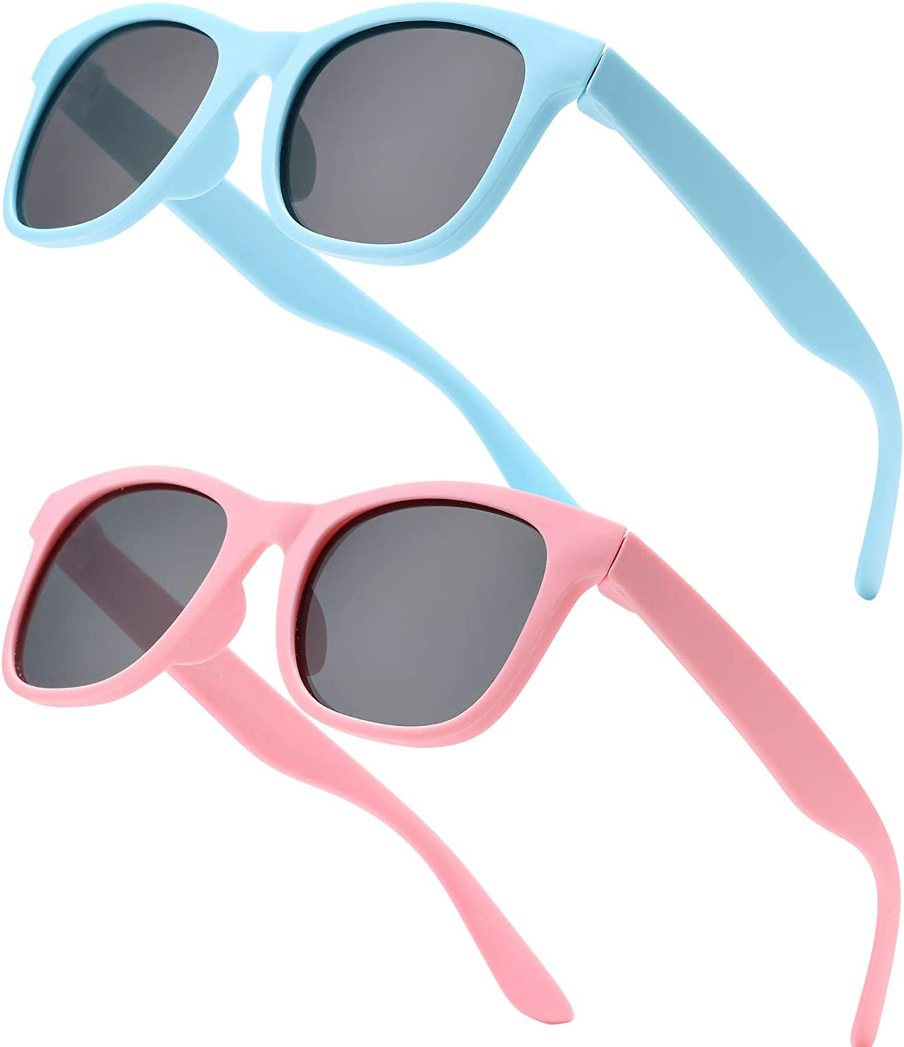 COASION Kids Polarized Year-end gift Al sold out. Sunglasses TPE F Bendable Flexible Rubber