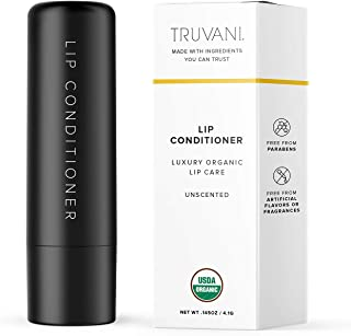 Truvani Organic Lip Conditioner | Moisturizing, Clean and Organic Ingredients | Paraben Free and Free of Artificial Flavor...