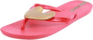 Ipanema Women's Red Gold PVC Flip Flops (81165-23654-US5-RED-RED-GOLD) - 3 UK