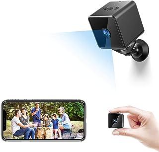 Mini Camara Espia Oculta Bluetooth, MHDYT WiFi HD 1080P Cámara Vigilancia Portátil con Altavoz Bluetooth, Sensor Movimient...