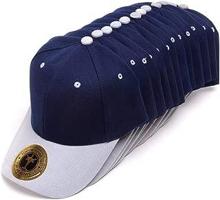 TOP HEADWEAR Plain Adjustable Adjustable Hat - 12 Pack