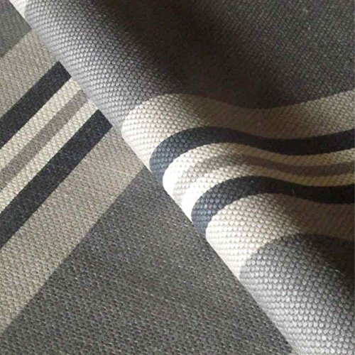 LOOME Harbour 'Herring Gull' : Grey Linen Upholstery Fabric from Fabrics, Sample 10 x 14 cm