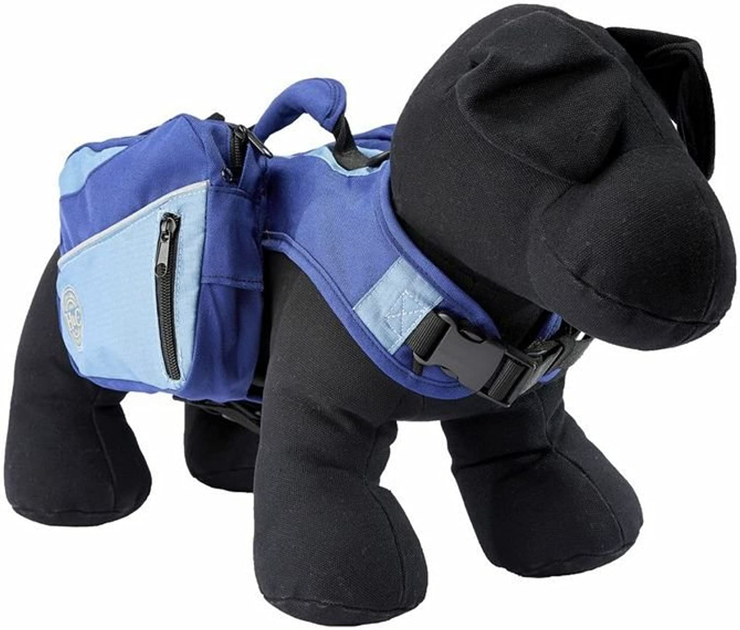 Henry and Clemmies Dog Backpack Small, bluee