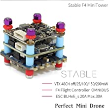 Mini F4 Flight Controller Stack 20x20 Whoop Tinyhawk 20A 2-4S 4 in 1 ESC for cinewhoop FPV Racing Drone Quadcopter Race Quad Multicopter Helicopter