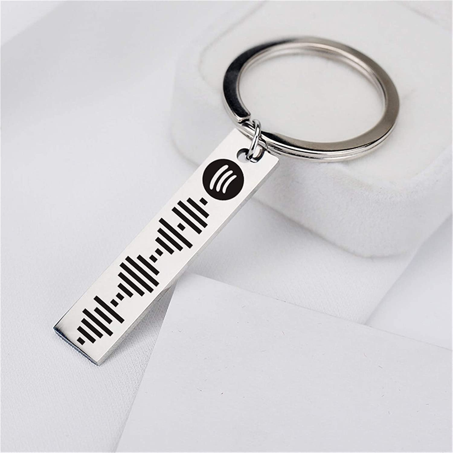 JZYZSNLB Ranking TOP2 Keychain Personalized Music Code Wome Scan Cheap mail order specialty store for