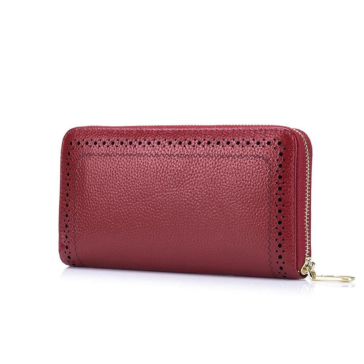 ブランド名長さブルームファッション/レディース/バッグ?財布/財布/Summer Women's Genuine Leather Long Wallet Clutch Card Coin Case Holder Purse