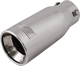 DC Sports EX-1011 Resonated High Performance Exhaust Tip - Polished Stainless Steel