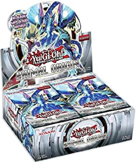 Yugioh TCG Trading Card Game Primal Origin 1st Edition Booster Box - contains 24 packs of 9 cards each