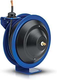 Coxreels P-WC17-5010 Spring Rewind Welding Cable Reel: 50' 1/0 Cable