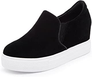 lcky Within The Increase of Sports Shoes Women's Platform Shoes Low Canvas Shoes
