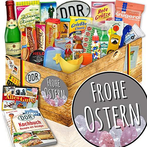 Frohe Ostern / DDR Geschenk Box 24tlg. / Geschenke zu Ostern für Erwachsene