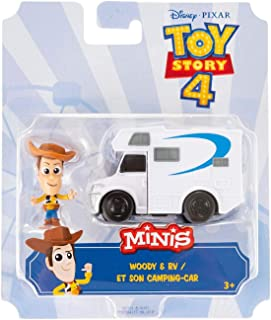Toy Story 4 Minis Duke Caboom and Stunt Bike (GCY49-D)