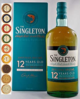Singleton of Dufftown 12 Jahre Single Malt Whisky  9 Edelschokoladen in 9 Sorten
