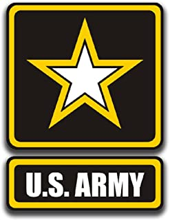 KCD U.S. Army Printed Vinyl Decal Sticker|Cars Trucks Vans Walls Laptops Cups|Full Color|5.5 in|KCD899
