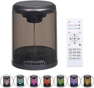 Docooler Led Quran Speaker Wire-less BT Speaker MP3 Player FM Radio Built-in 7-Color Led Light with Remote Control
