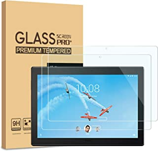 """[2-Pack] PULEN for Lenovo Smart Tab P10 10.1"""" Screen Protector,HD Easy Installation Anti-Fingerprints Bubble Free 9H Hardness Tempered Glass for Lenovo Tab P10 Tablet (10.1-Inch)"""