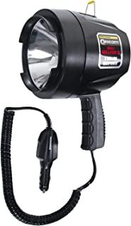 Brinkmann Qbeam Max Million III 3 Million Maxpower Spotlight, Powerful 1200 Lumen Spotlight Bright Portable High Intensity Halogen Flood/Spotlight Offroad Automotive/Emergency/ Boating 800-2301-0