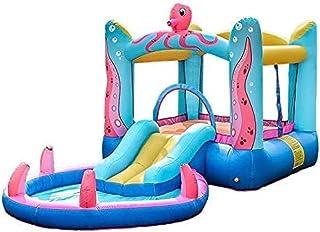 JLHBM نفخ ترتد البيت الطائر ملعب للأطفال اللعب قلعة الترامبولين مع بارك الشرائح القفز الحارس موضوع للأطفال JLHBM