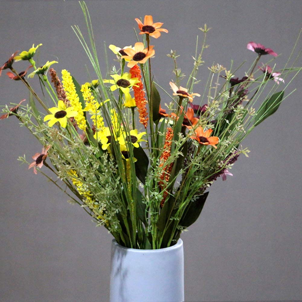 SYLOTS 10 Pack Daisies shipfree Flowers Daisy Discount is also underway Mini Artificial