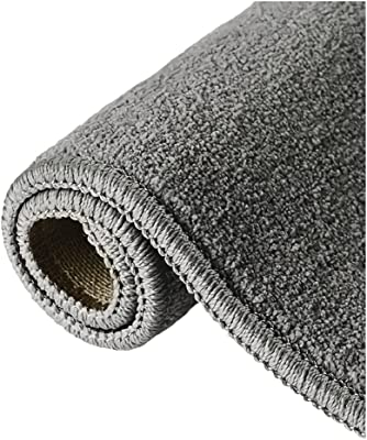 Carpets, 2.3'×4.6' Bedside Blankets Non-Slip Sleep Sit Furry Decorative Crawling Mats Rugs, in Sofas Living Rooms Bedrooms (Color : Black, Size : 5.2 * 7.5feet)