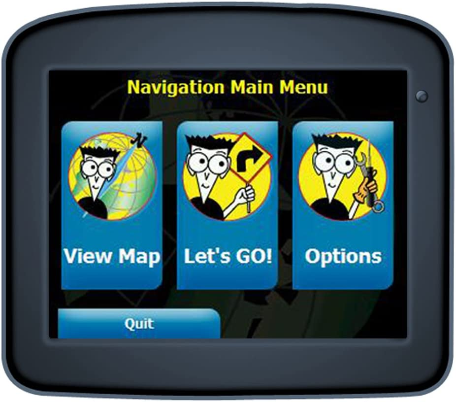 GPS Navigation For Dummies FD-220 3.5-Inch Portable GPS Navigator (Discontinued by Manufacturer)